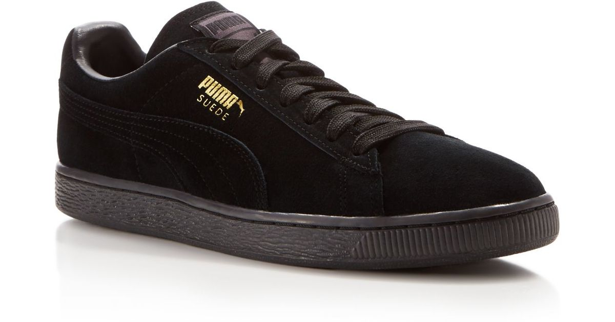 puma suede classic eco nm - navy/gold