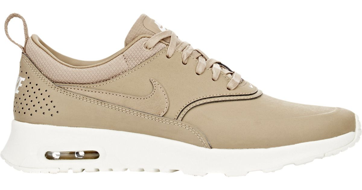 the latest 3fdf7 1a4db ... switzerland lyst nike air max thea premium sneakers in natural for men  cc8ff aeb86