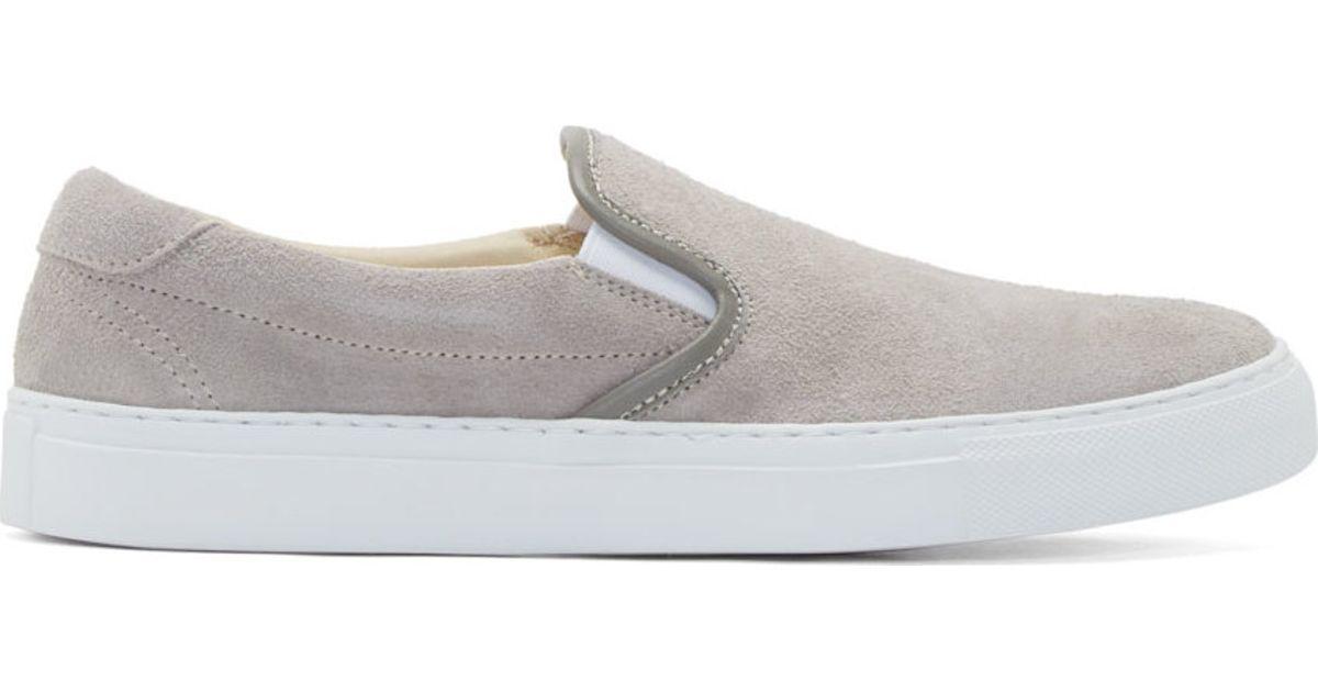 Diemme Beige Suede Garda Slip-On Sneakers nf2MmT9Iz