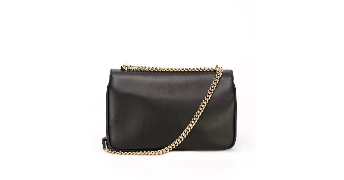 Ralph Lauren Geometric Beaded Suede Chain Shoulder Bag b4vUVpecJ0