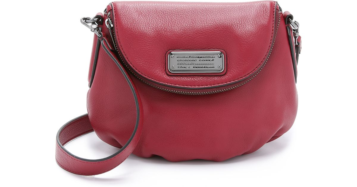 d46beaec84c9 Marc By Marc Jacobs New Q Mini Natasha Bag - Red Canyon in Red - Lyst