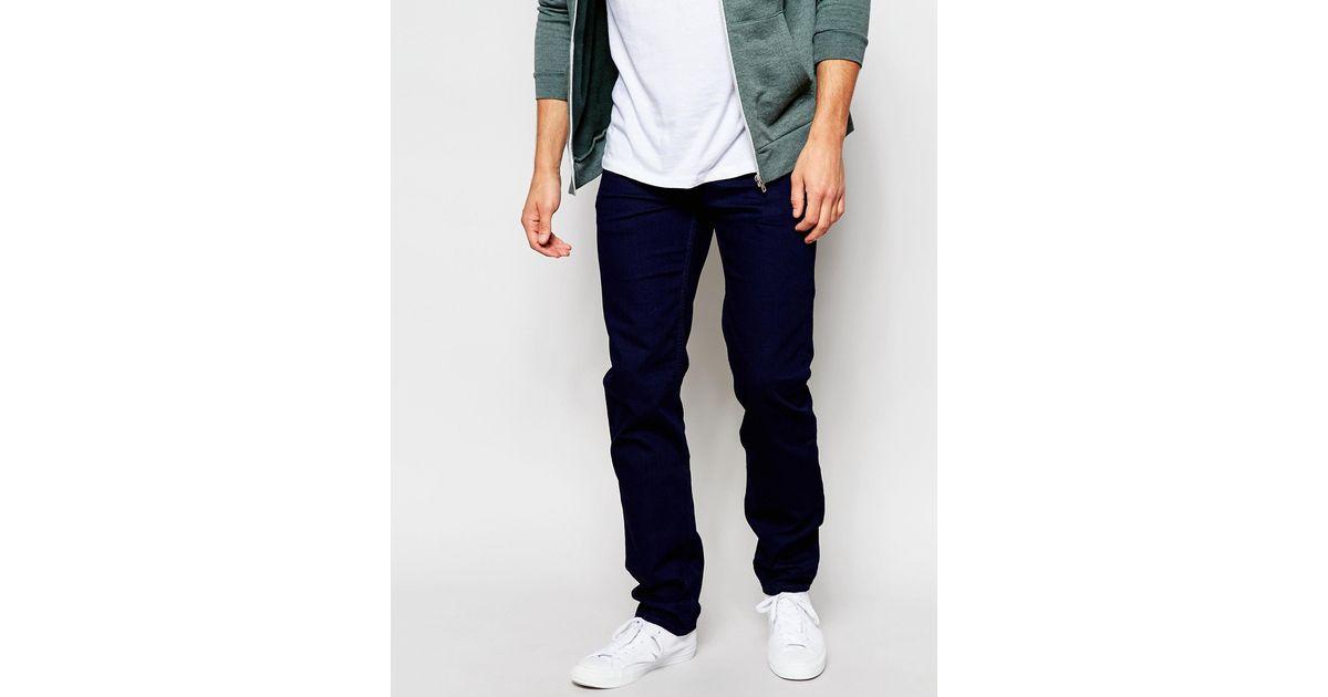 lee jeans jeans powell low waist slim fit blue bolt indigo. Black Bedroom Furniture Sets. Home Design Ideas