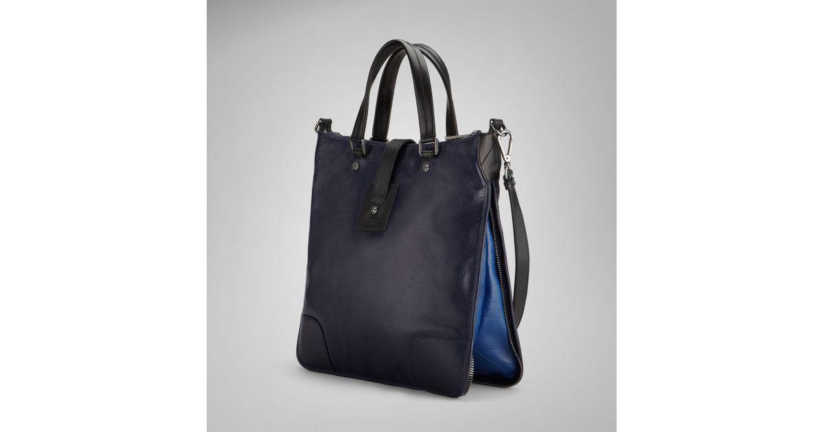 64f29b41fb4 Belstaff Large Hampton Bag in Black - Lyst