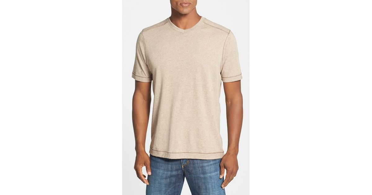 14a09a31c0e Lyst - Tommy Bahama Denim  cohen  Island Modern Fit T-shirt in Natural for  Men