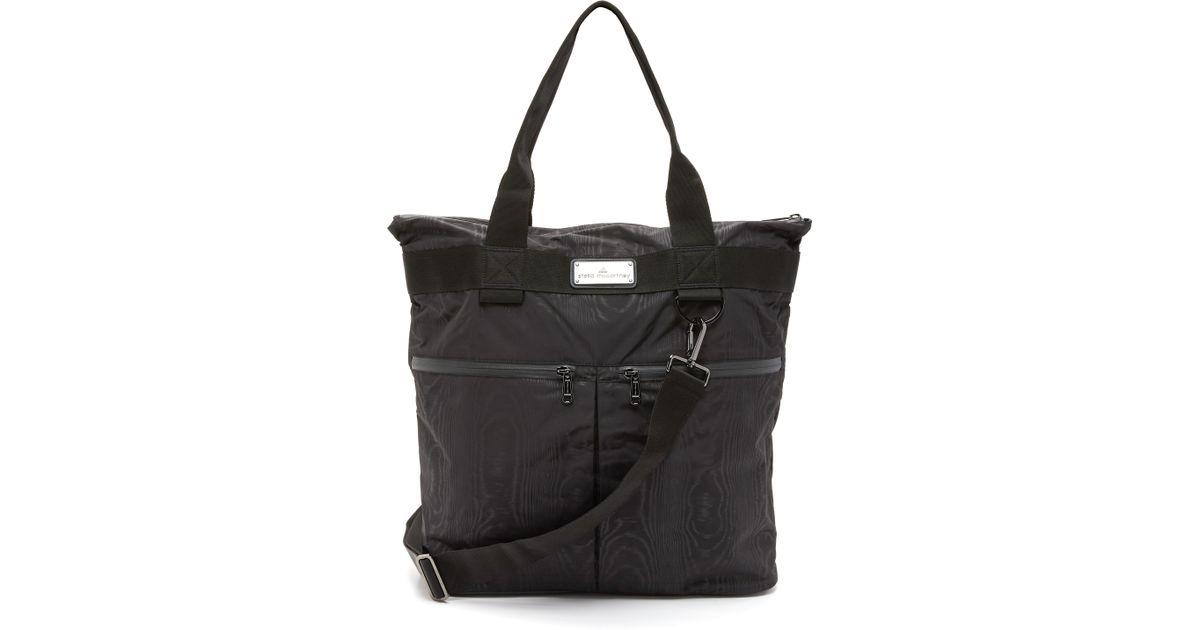 fcd412f9caa8 Lyst - adidas By Stella McCartney Big Sports Bag in Black