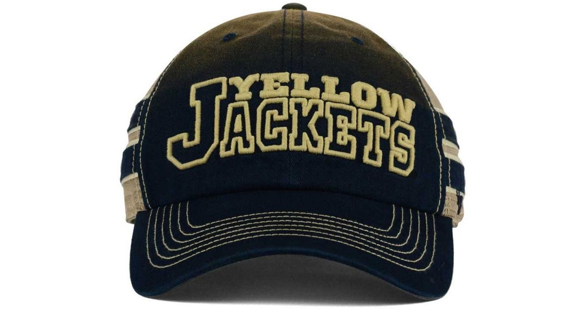 the best attitude 64165 48100 Lyst - 47 Brand Georgia Tech Yellow Jackets Mackinack Meshback Cap in Blue  for Men