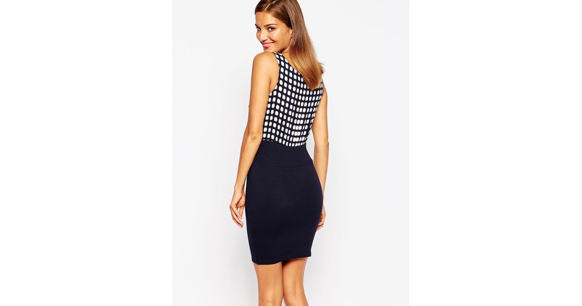 f288a34f1a5f Lyst - AX Paris 2 In 1 Bodycon Dress in Blue
