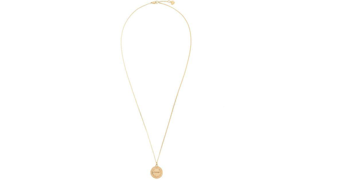 Manokhi buckled necklace - Metallic WDjI7I