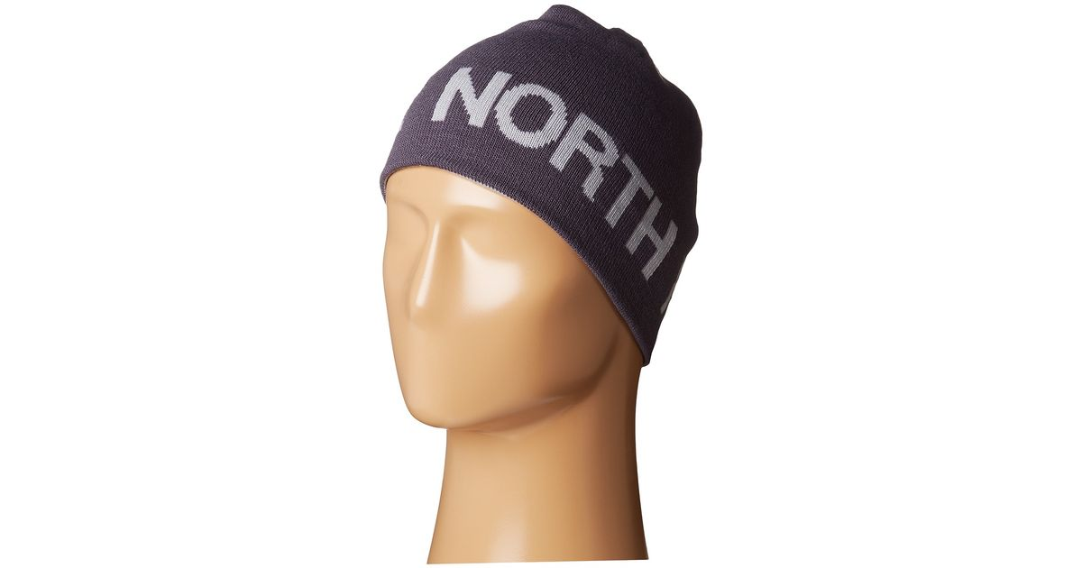06f3c8ead75f2 Lyst - The North Face Reversible Tnf Banner Beanie in Blue