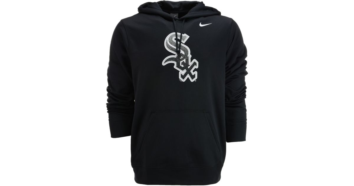 bcc68bc15 Nike Mens Chicago White Sox Logo Performance Hoodie in Black for Men - Lyst