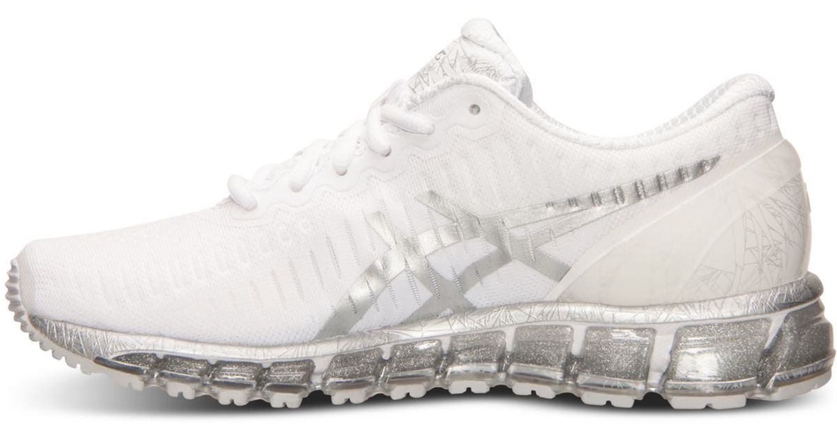 Lyst - Asics Women s Gel-quantum 360 Running Sneakers From Finish Line in  White 76de158a7b
