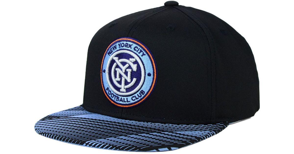 d113c3fa8d1 Lyst - adidas New York City Fc Evolution Snapback Cap in Blue for Men