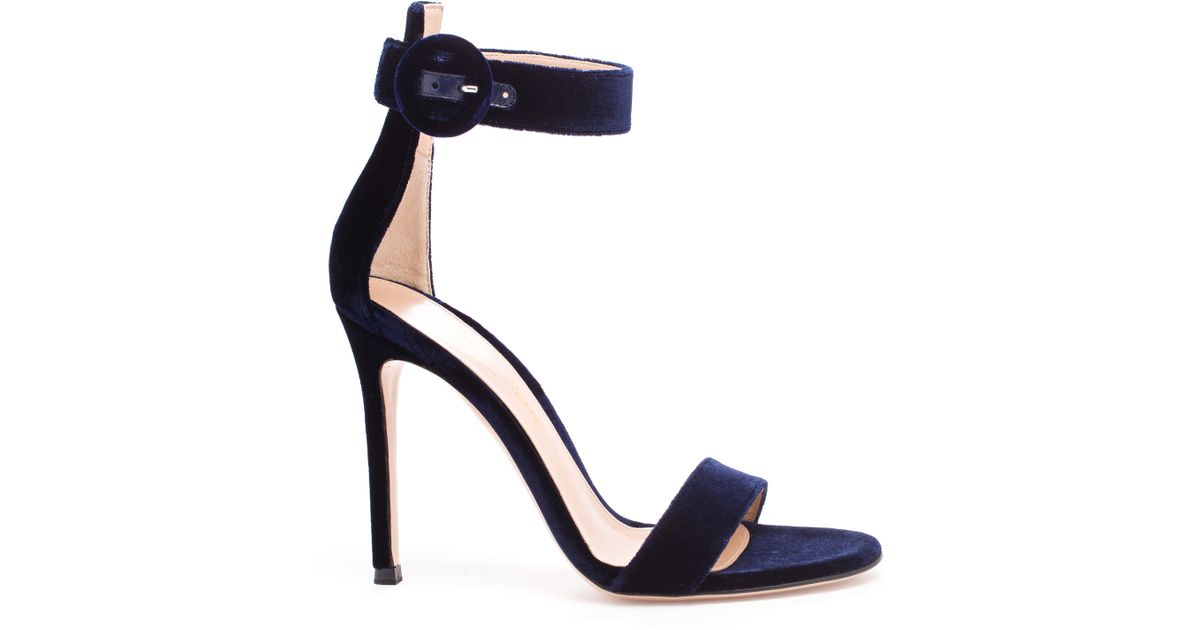 genuine cheap price Gianvito Rossi Portofino Velvet Sandals cheap brand new unisex cAXDkG4uLb