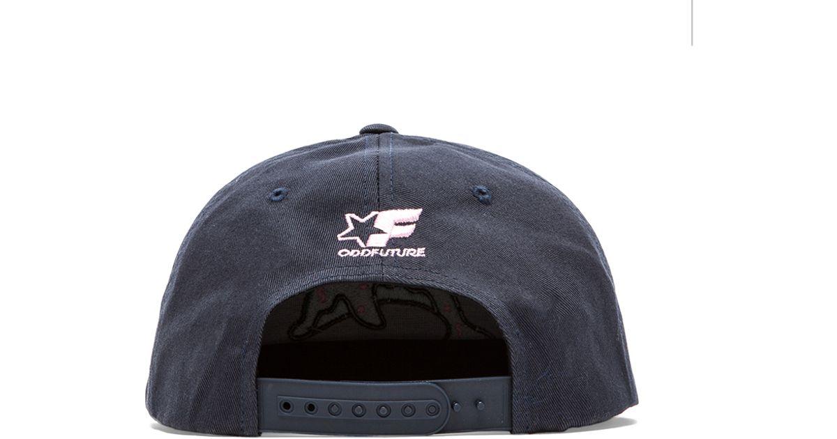 745d1fc0332fa Odd Future Dolphin Donut Cap in Blue for Men - Lyst