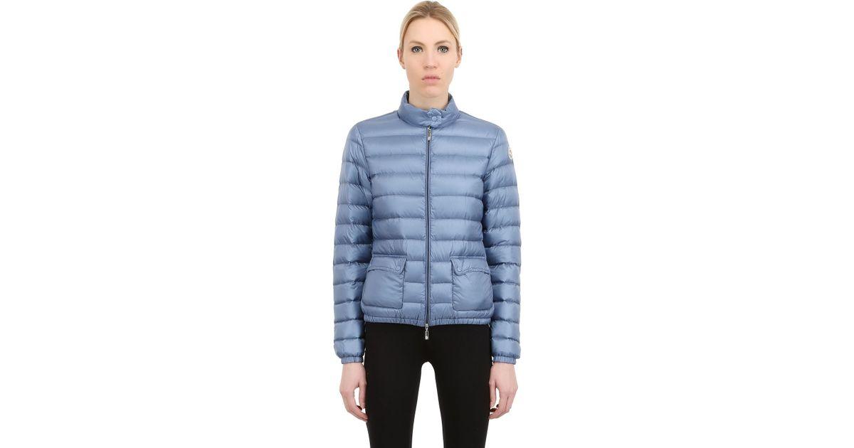 7da5c96931f1 Moncler  lans  Padded Jacket in Blue - Lyst