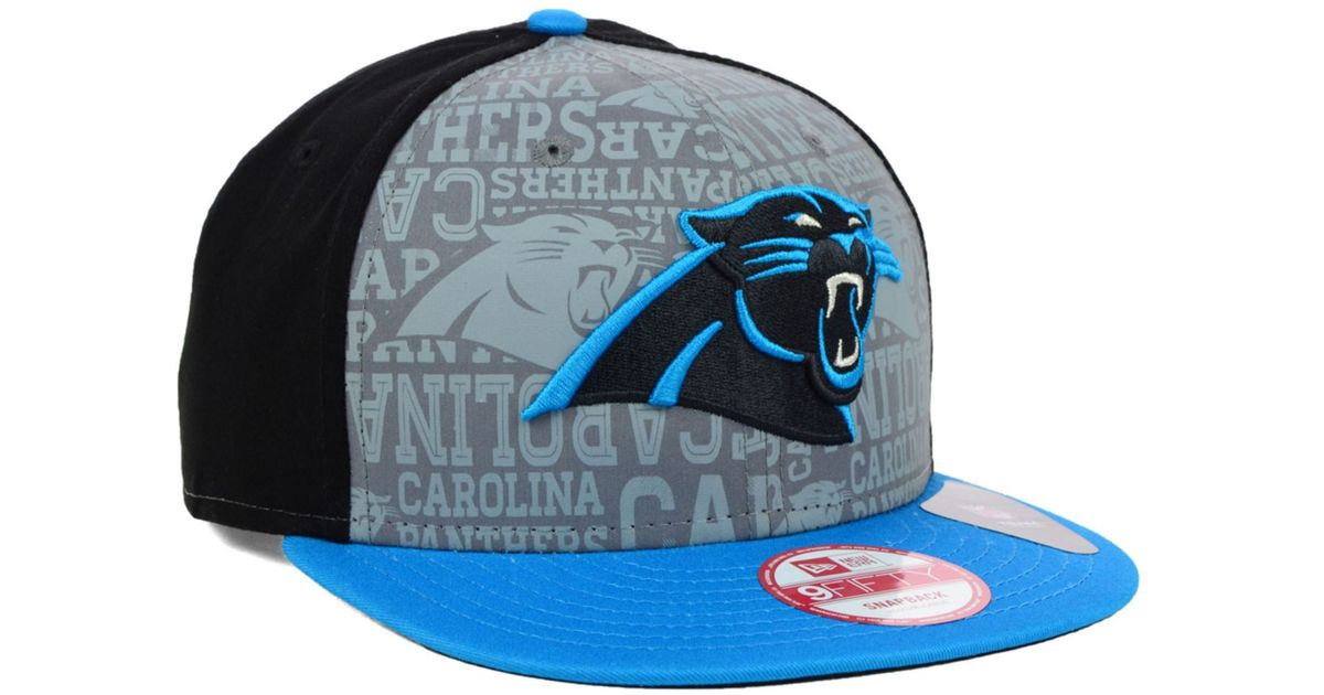 sports shoes adf0b 22eb6 Lyst - KTZ Kids Carolina Panthers Nfl Draft 9fifty Snapback Cap in Blue for  Men