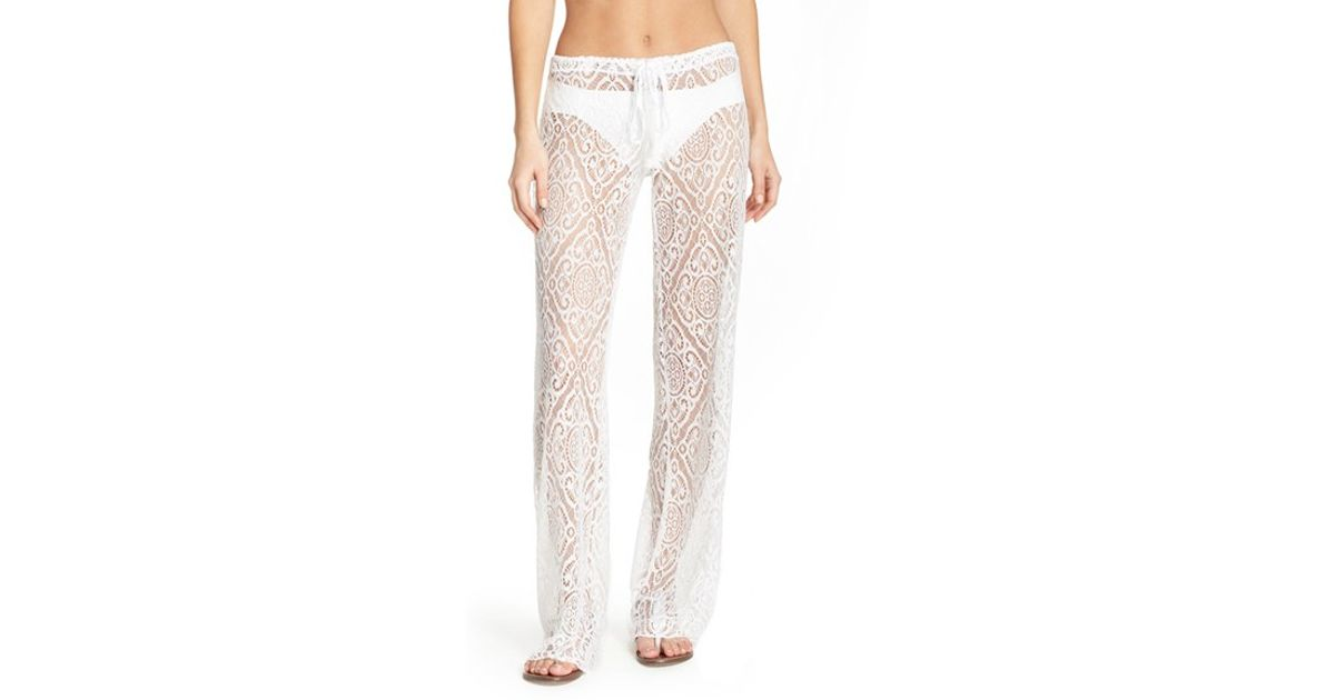 Shop for PilyQ Malibu Lace Swim Cover-Up Pants with FREE Shipping & FREE Returns. Pick Up in Store Available.