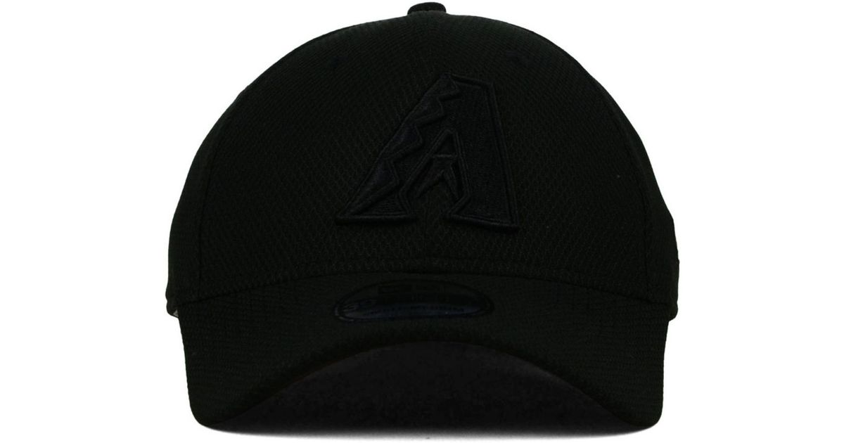 size 40 95b8a 14dbb Lyst - KTZ Arizona Diamondbacks Black Diamond Era 39thirty Cap in Black for  Men