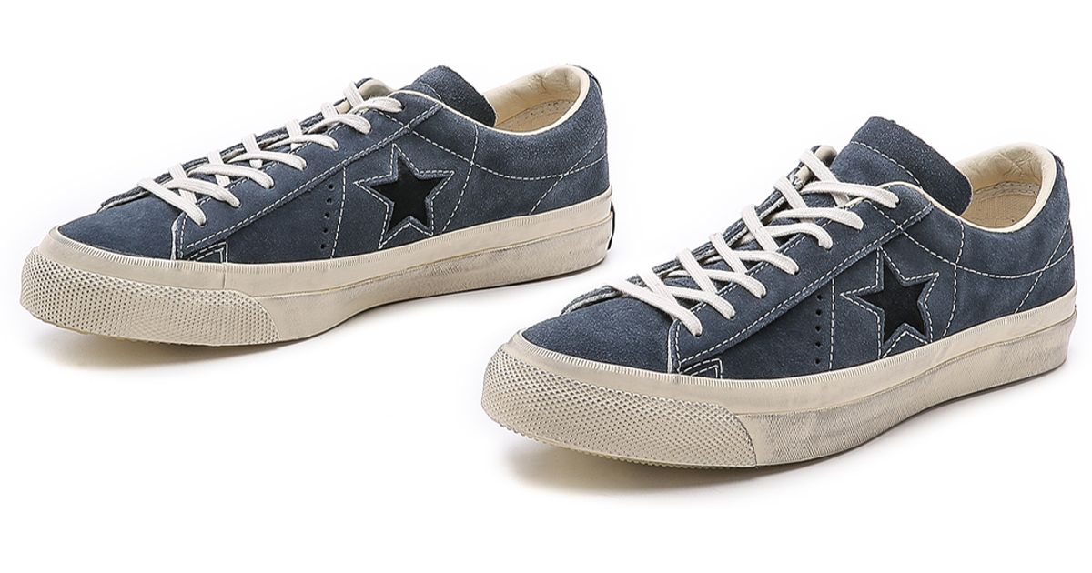 eb565beebf52 Lyst - Converse One Star Sneakers in Blue for Men