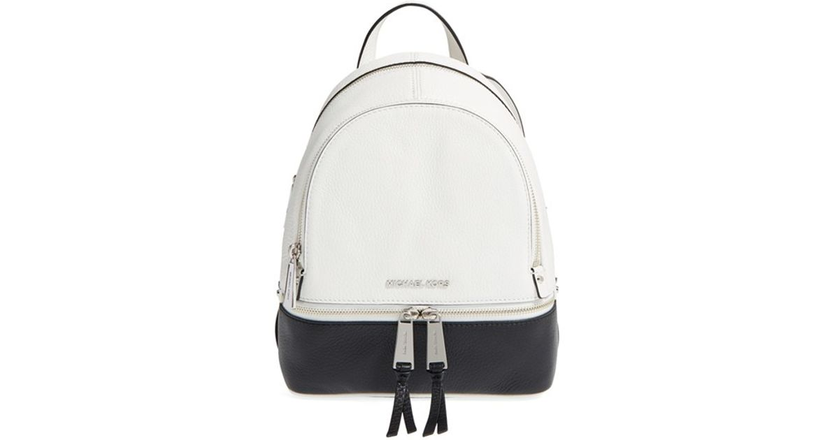 416efdfb594 MICHAEL Michael Kors 'extra Small Rhea' Backpack in White - Lyst