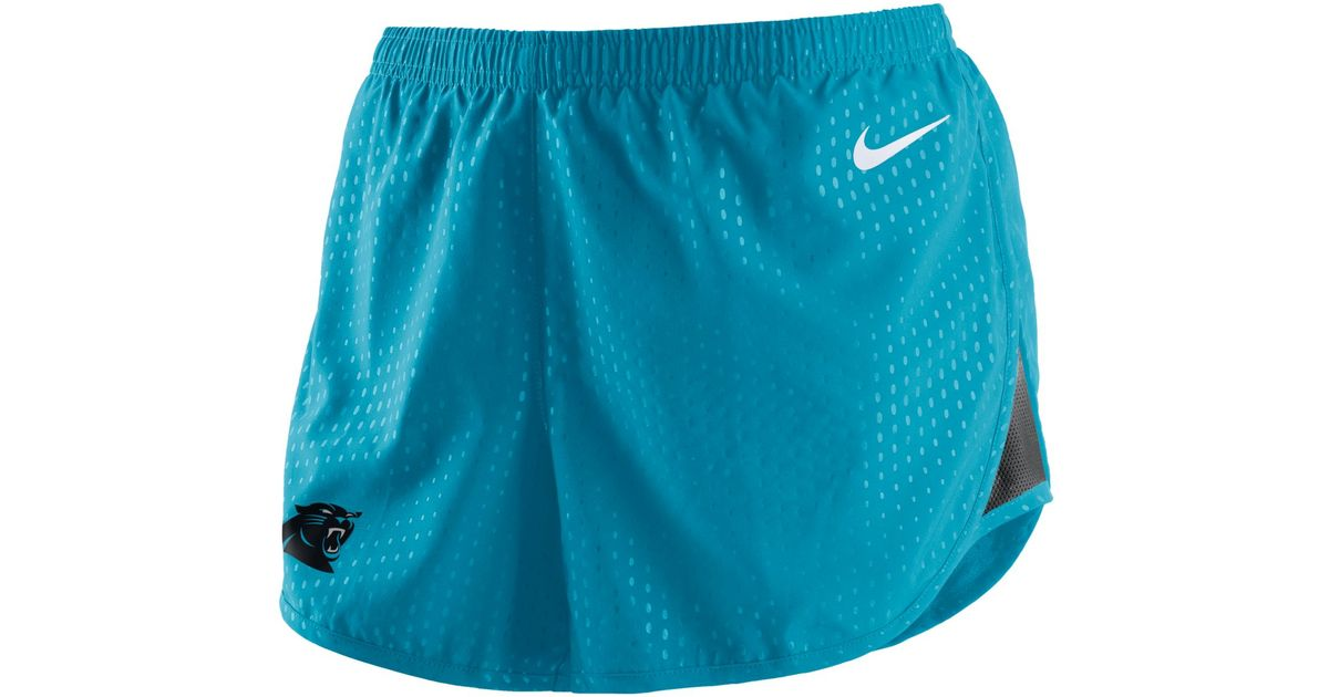 carolina panthers shorts women