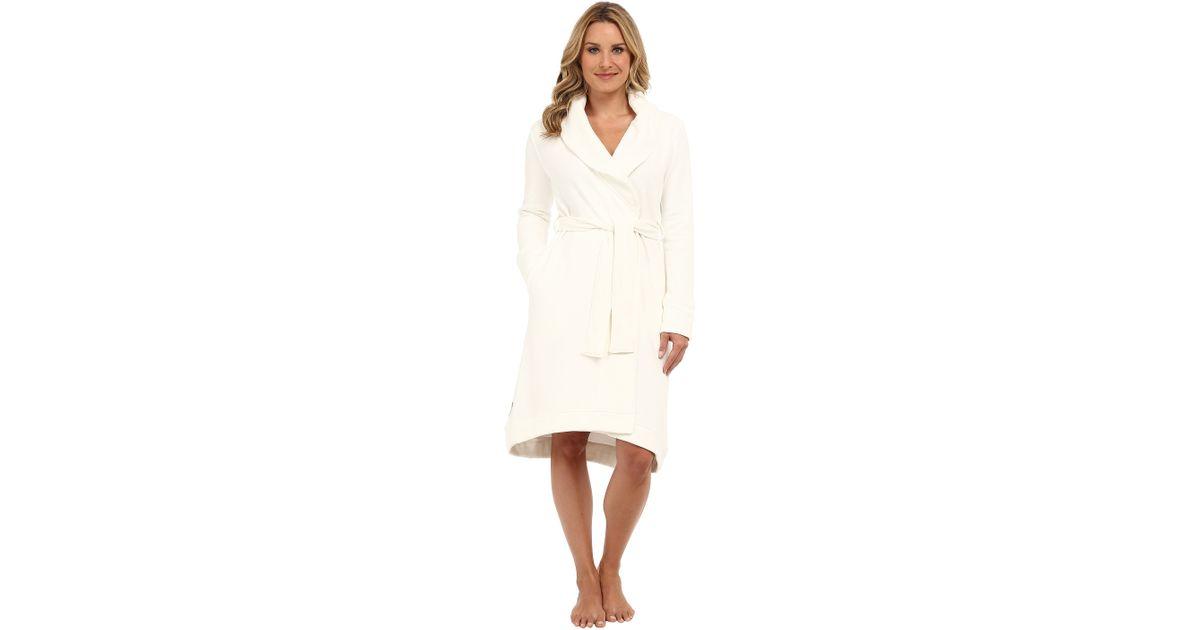 Lyst - Ugg Allinda Robe in Natural e64d81ead