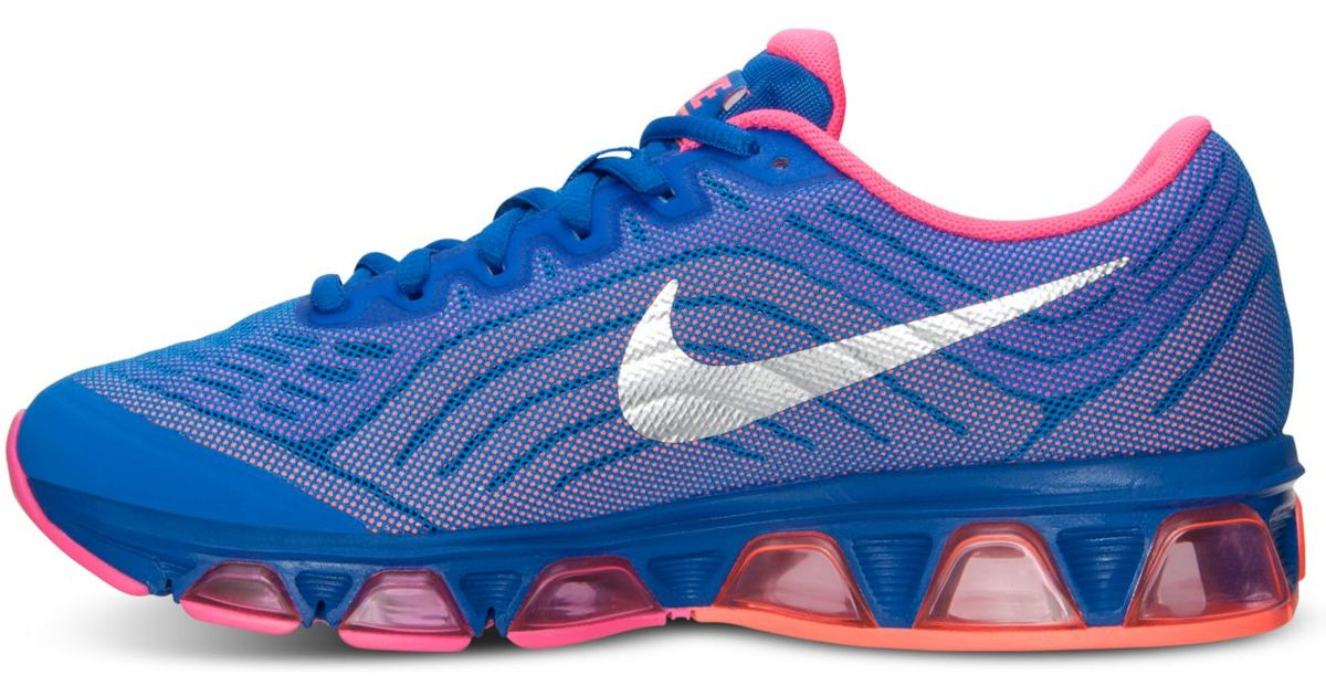 info for abc16 b7c1b ... inexpensive lyst nike womens air max tailwind 6 running sneakers from  finish line in blue 51bbe