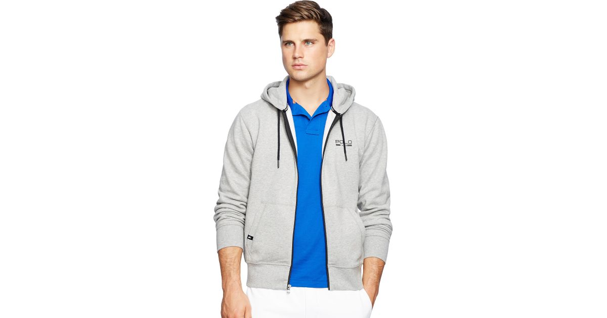 Pink Pony Big Tall Fleece Hoodie In Gray For Men Lyst
