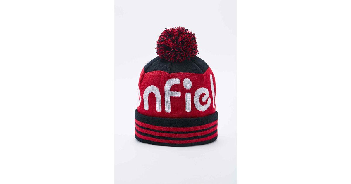 ac992740f40919 Penfield Sanford Bobble Hat in Black for Men - Lyst