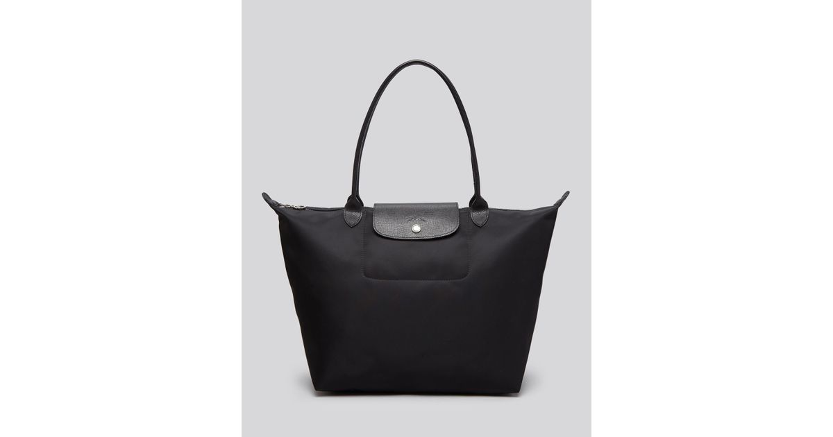 37bc31402d4f Lyst - Longchamp Le Pliage Neo Large Tote in Black