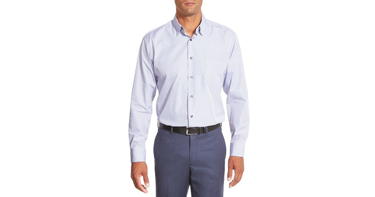 Robert talbott 39 anderson 39 classic fit stripe sport shirt for Robert talbott shirts sale