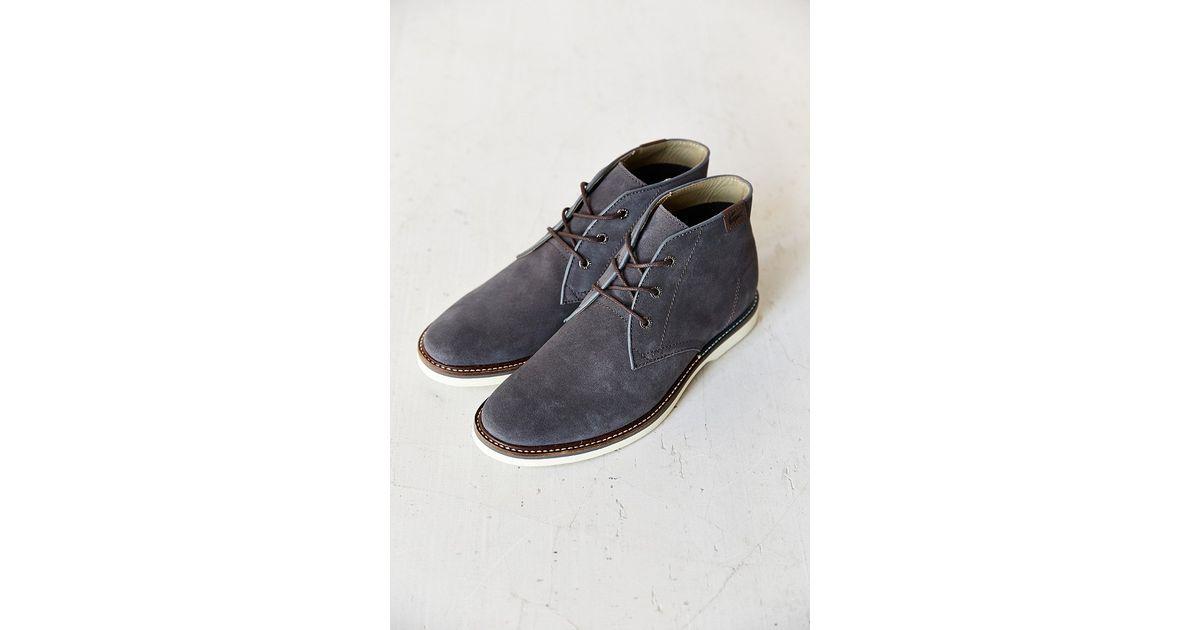 9a835601e74426 Lyst - Lacoste Sherbrooke Hi Shoe in Gray for Men