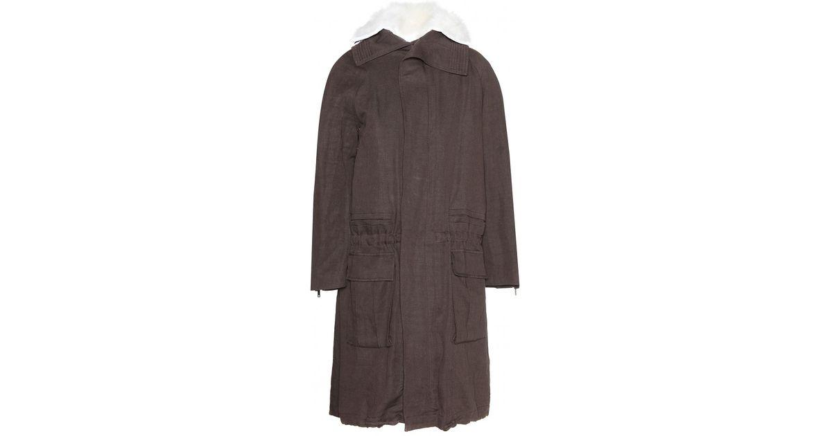 Satin Coat - Claret Haider Ackermann Sale Big Discount b4559Xsgs