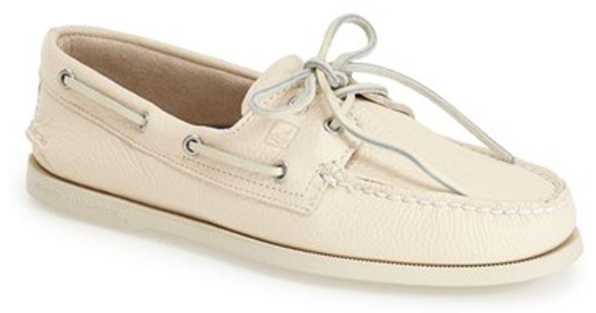 Sperry Mens Oatmeal Boat Shoe