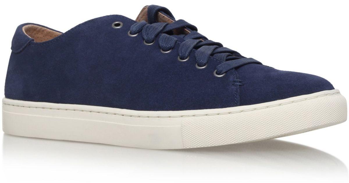 polo ralph lauren jermaine sneaker in blue for men navy lyst. Black Bedroom Furniture Sets. Home Design Ideas