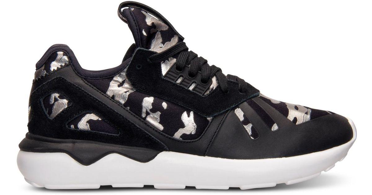 adidas tubuläre läufer vintage - weiße linien sneakerdiscount