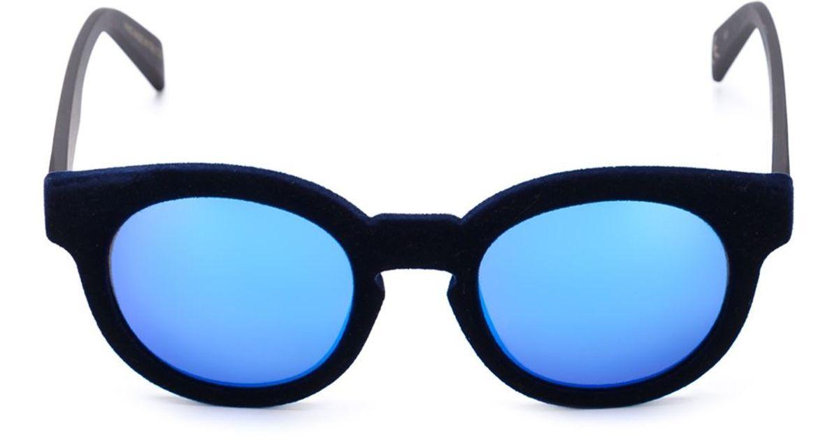 05786f8c95bc Lyst - Italia Independent 'i-plastik' Sunglasses in Black for Men