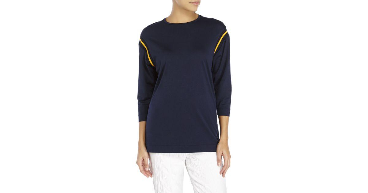 b9ce986a2a7af Lyst - Acne Studios Minerva Piq T-Shirt in Black
