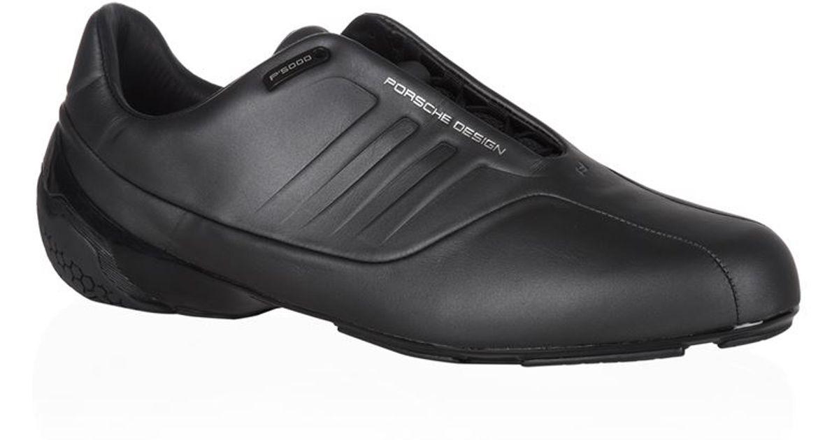 porsche design els formotion driving shoe in black for men. Black Bedroom Furniture Sets. Home Design Ideas