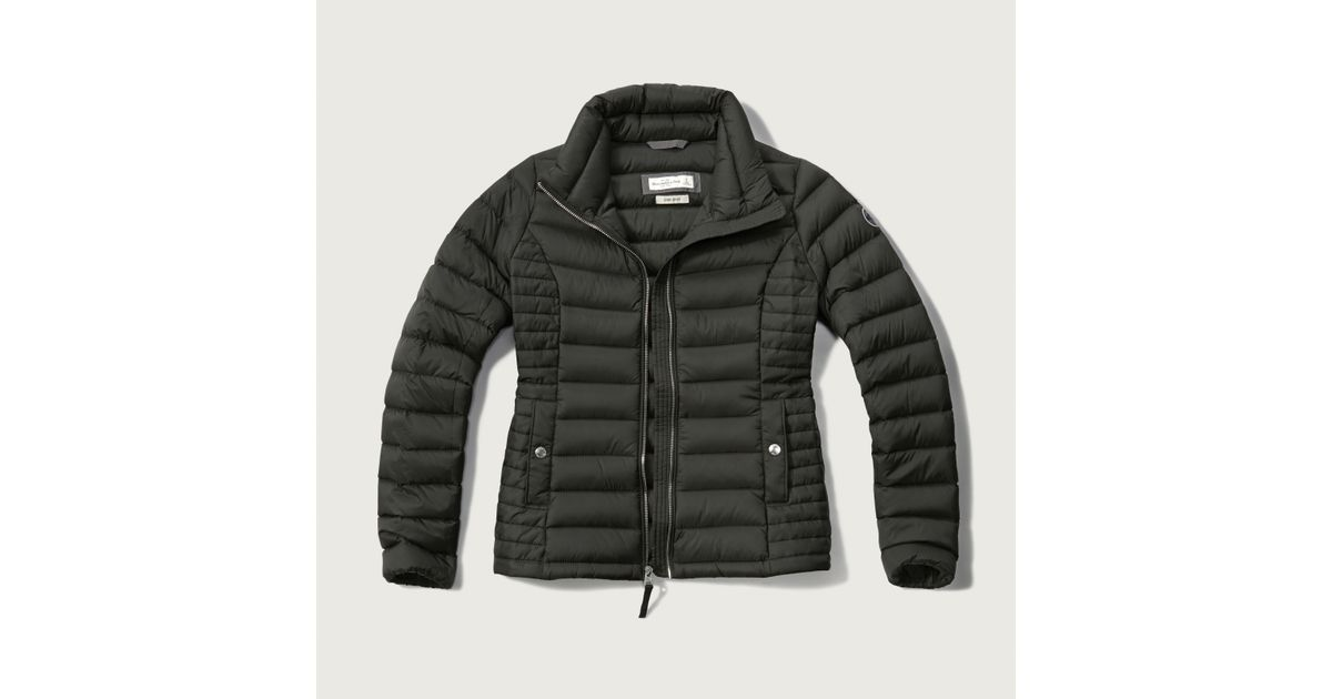 Abercrombie And Fitch Clothing Abercrombie And Fitch Hoodies Abercrombie And Fitch Jackets Abercrombie And Fitch Sweater: Abercrombie & Fitch A&f Down Series Lightweight Puffer