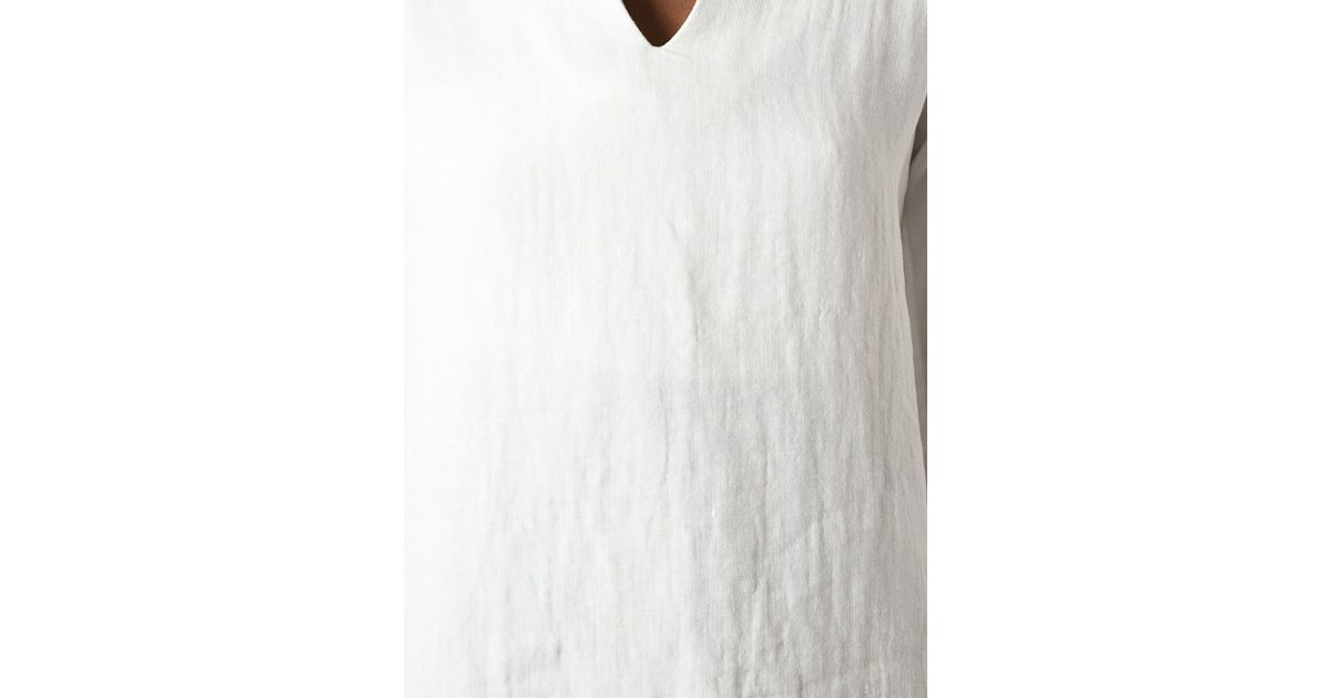 191528be5a51e Lyst - Ter Et Bantine Tunic Top in White