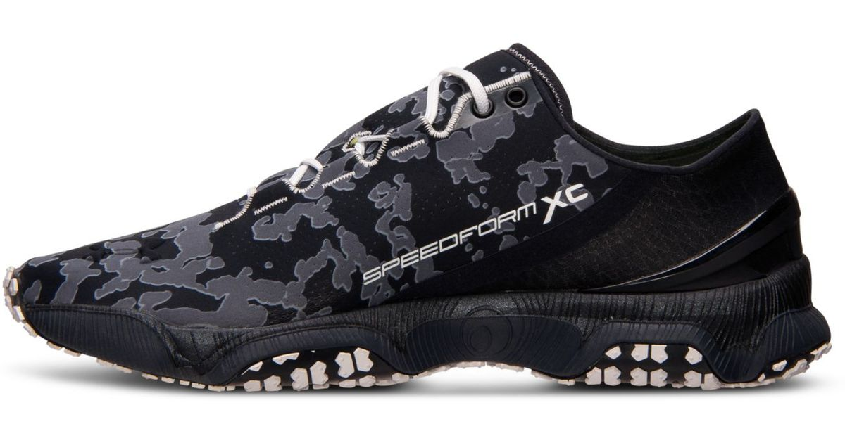 f05081e45f57c Under Armour Men'S Speedform Xc Trail Running Sneakers From Finish Line in  Black for Men - Lyst