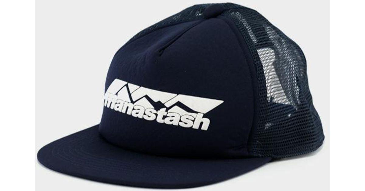 e8a00f197 Manastash - Blue Mountain Trucker Navy for Men - Lyst