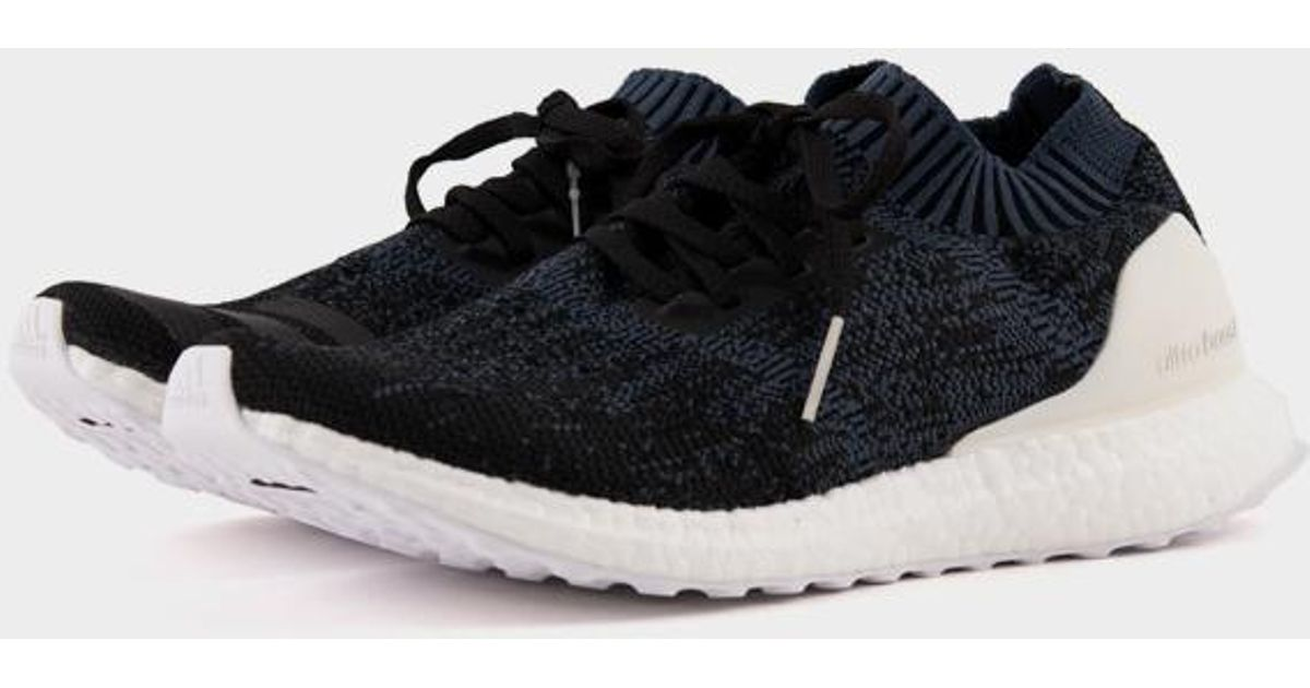 f1574c2fc6125 adidas Ultra Boost Uncaged Navy Black in Black for Men - Lyst