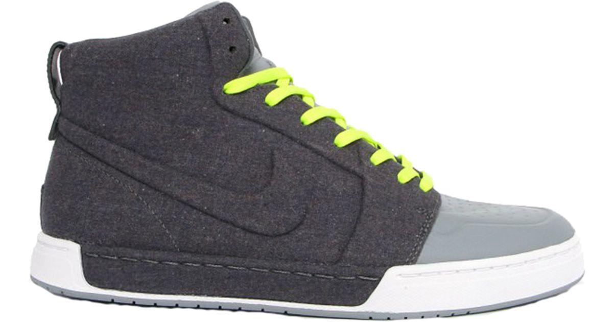 Nike Gray Air Royal Mid Vt for men