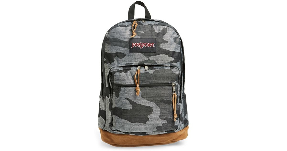 Lyst - Jansport 'right Pack - Expressions' Backpack in Gray