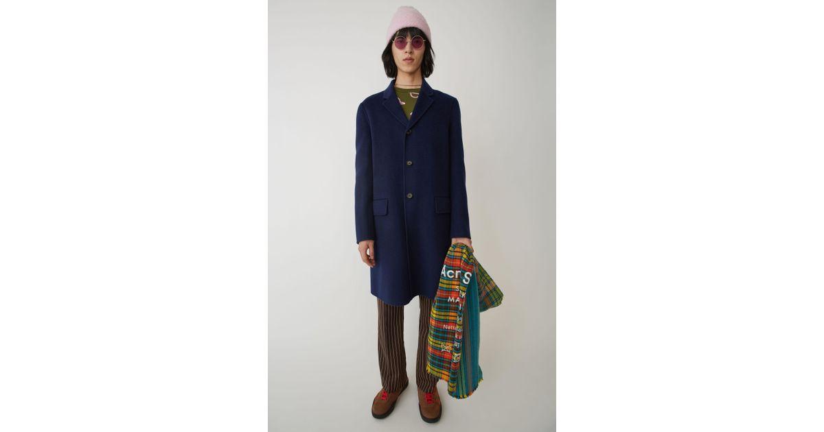 quality design 91e22 faf83 acne-Dark-Blue-Matthew-Dark-Blue-Tailored-Coat.jpeg