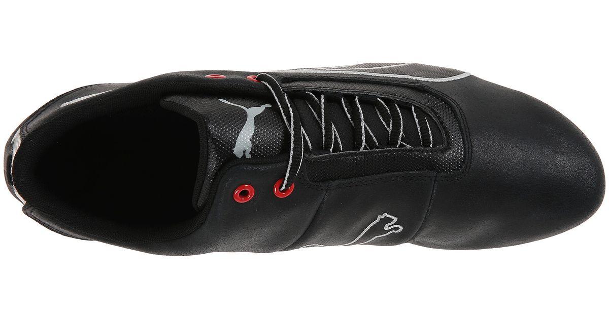 Lyst - PUMA Future Cat S1 Leather in Black for Men 93eaf1f5e