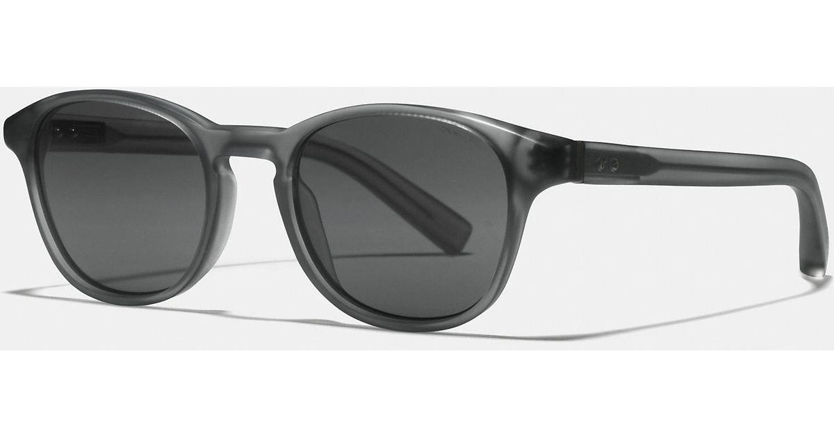 e36db71b4b0e ... czech coach lexington sunglasses in black for men lyst 22aa4 9aabe ...