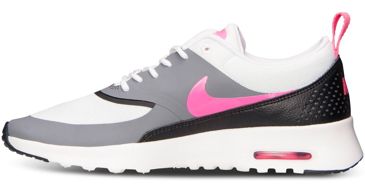 official photos 14c19 372c6 Lyst - Nike Women s Air Max Thea Running Sneakers From Finish Line in Gray